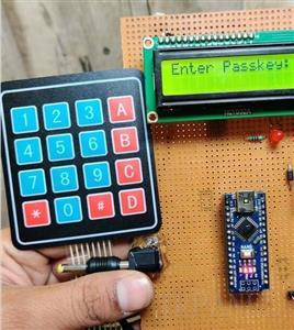 Matrix 16-Key Pad