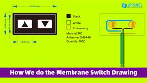 How Does JRPanel Do the Design Drawing of Membrane switches?