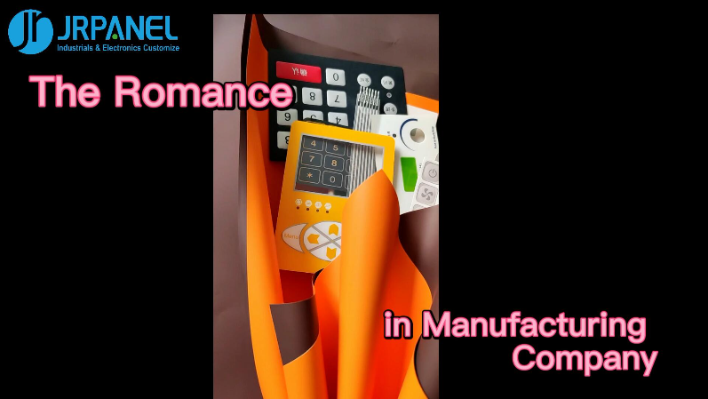 Membrane Switch/Panel Bouquet--Romance in Manufacturing Industry