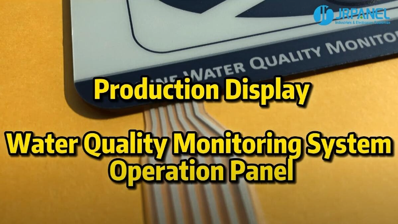 Water Quality Monitoring System Operation Panel--Production Display
