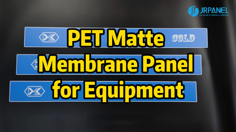 PET Matte Membrane Panel for Equipment--Production Display