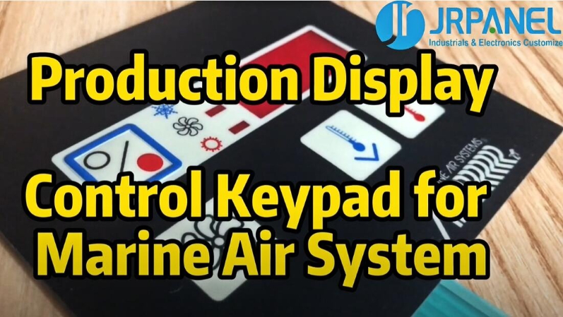 Control Keypad for Marine Air System--Production Display